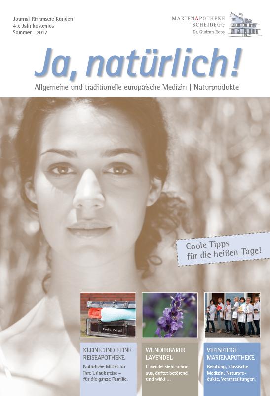 marienapotheke scheidegg heimenkirch magazin Sommer 2017